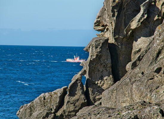 Porto do Son paisaje de mar